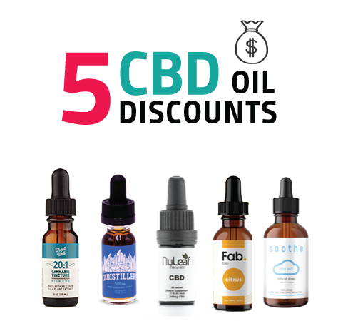 Discount CBD Oil and Tinctures Online: Up to 25% off