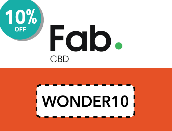 Fab CBD | 20% Oil Coupon Code: WONDER10