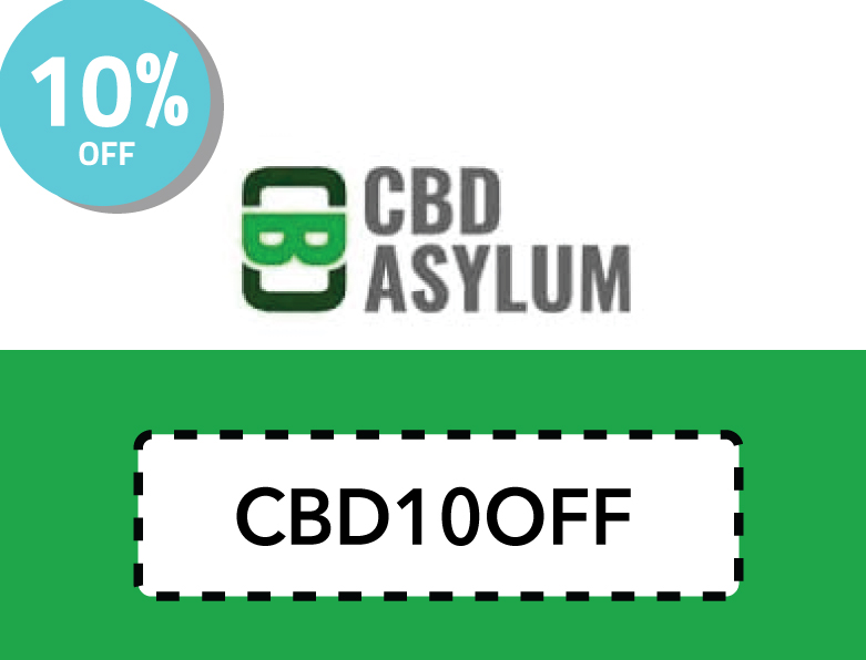 CBDAsylum Discount Code | 10% off with code: CBD10OFF