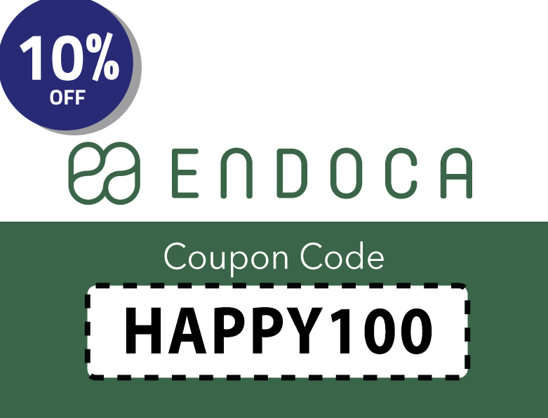 Endoca CBD Oil Coupon Code: HAPPY100 | Get 10% off your order!