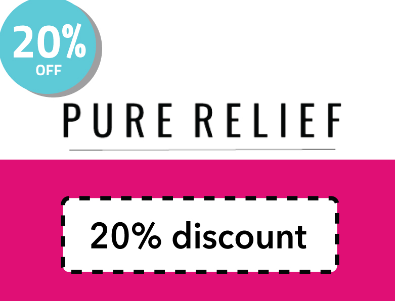 Pure Relief Discount Code | Get 20% off your order from Pure Relief CBD