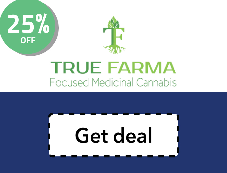 True Farma Promo Code | Get 25% off your CBD order in California
